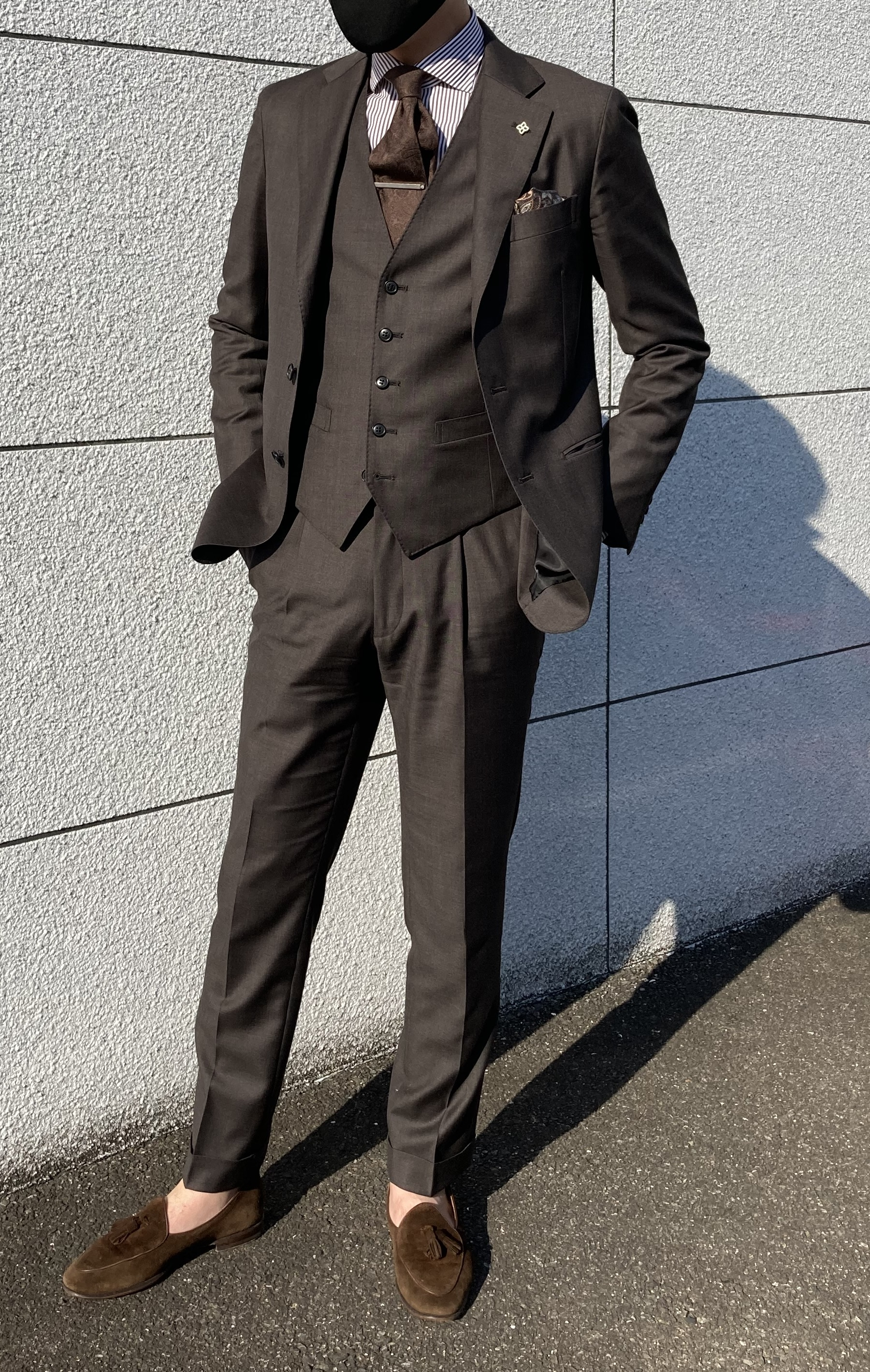 【スタイリング紹介】スーツスタイル